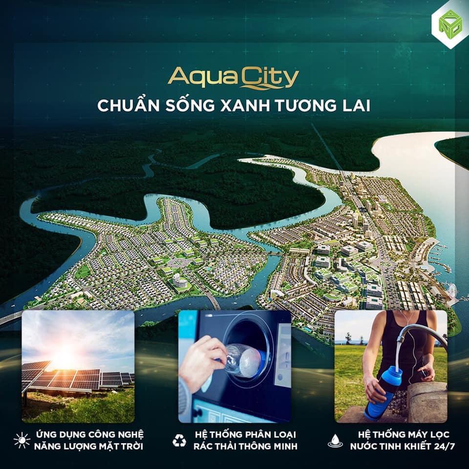 Mỗi ngày sống tại Aqua City là một ngày cộng đồng tinh hoa được tận hưởng môi trường sinh thái an lành